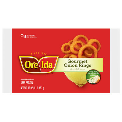 Ore-Ida® Gourmet Onion Rings 16 oz. Bag