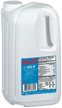 Superior Fat Free Milk 1 Gal Jug