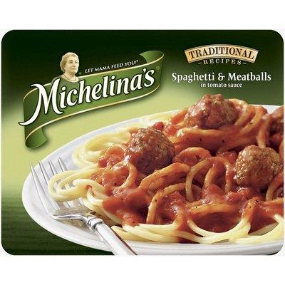 Michelina's Traditional Recipes  Spaghetti & Meatballs 8.5 Oz Tray