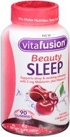 Vitafusion Beauty Sleep Cherry-Vanilla Gummies