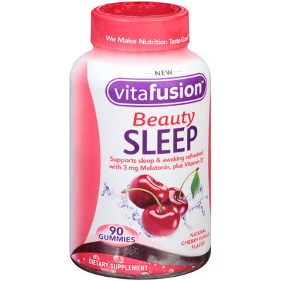 Vitafusion™ Beauty Sleep Cherry-Vanilla Gummies