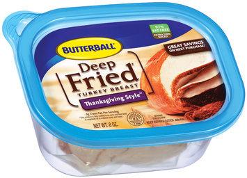 Butterball Deep Fried Thanksgiving Style Turkey Breast 8 Oz Plastic Tub