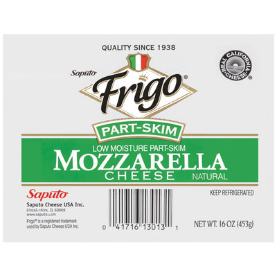 Frigo® Part-Skim Mozzarella Cheese 16 oz.
