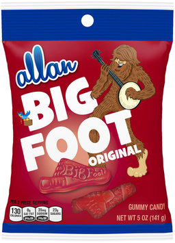 allan original big foot gummy candy