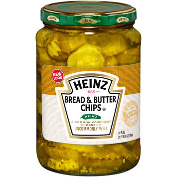 Heinz Bread & Butter Chips Pickles 16 fl. oz. Jar