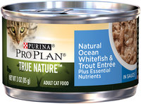 PRO PLAN® TRUE NATURE™ - ADULT - Grain Free Formula Natural Ocean Whitefish & Trout Entree Classic