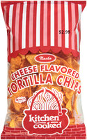 Kitchen Cooked Nacho Cheese Flavored Tortilla Chips $2.99 Prepriced 12 oz. Bag