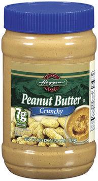 Haggen Crunchy Peanut Butter 40 Oz Plastic Jar