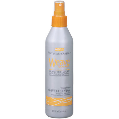 Weave Care Sheen Spray Superior Care 8.5 Oz Plastic Bottle