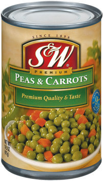 S&W® Peas & Carrots 14.5 oz. Can
