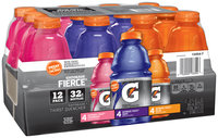 Gatorade® G Series Fierce® Strawberry Fierce® Grape Fierce® Melon Variety Pack