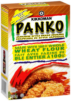 Kikkoman® Panko Whole Wheat Japanese Style Bread Crumbs 227g Box