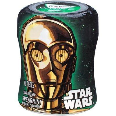 Trident White Star Wars™ Spearmint Sugar Free Gum