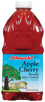 Schnucks Apple Cherry Flavored Juice Cocktail 64 Oz Plastic Bottle