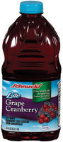 Schnucks Grape Cranberry Lite Juice Cocktail 64 Oz Plastic Bottle