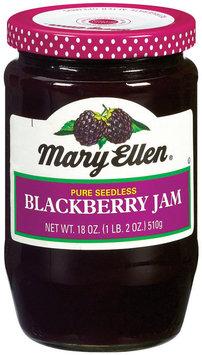 Mary Ellen Blackberry Seedless Jam
