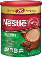 Nestlé HOT COCOA Mix Fat Free Rich Milk Chocolate Flavor 7.33 oz. Canister