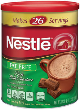 Nestlé HOT COCOA Mix Fat Free Rich Milk Chocolate Flavor