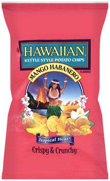 Hawaiian® Mango Habanero Kettle Style Potato Chips 7.5 Oz Bag