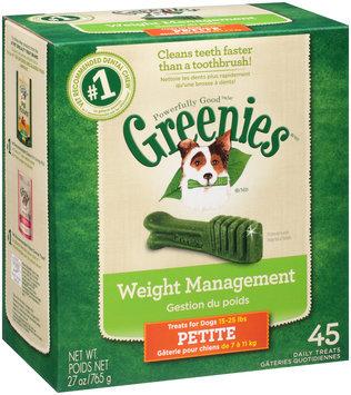 Greenies® Weight Management Petite Dog Treats 27 oz. Box