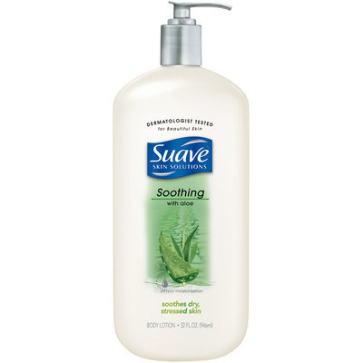 Suave® Soothing with Aloe Body Lotion