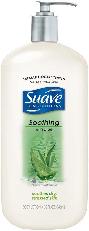 Suave Skin Solutions Soothing with Aloe Body Lotion
