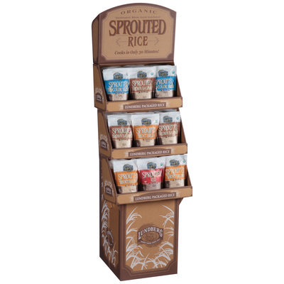 Lundberg Family Farms® Organic Sprouted Rice Display