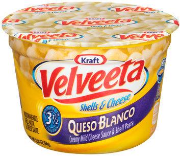 Kraft Velveeta Queso Blanco Shells & Cheese 2.39 oz. Microcup