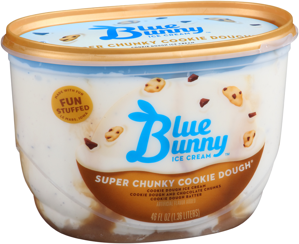 Blue Bunny Ice Cream Super Chunky Cookie Dough