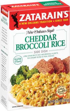 Zatarain's® Cheddar Broccoli Rice Mix 5.7 oz. Box