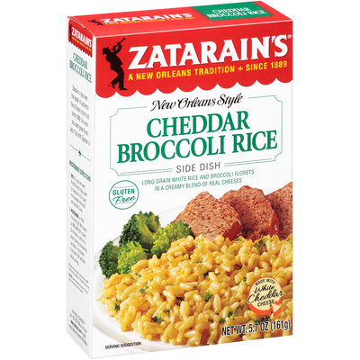 Zatarain's® Cheddar Broccoli Rice Mix 5.7 oz. Box