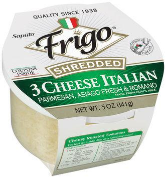 Frigo®3 Italian Shredded Cheese 5 oz. Plastic Tub