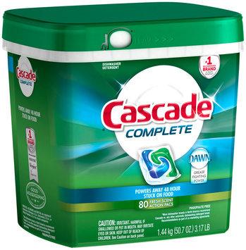 Cascade® Complete™ ActionPacs™ Dishwasher Detergent Fresh Scent