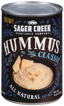 Sager Creek Vegetable Company™ Classic Hummus 16 oz. Can