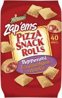 Michelina's Snack Rolls Pepperoni Pizza Snack Rolls 20 Oz Bag
