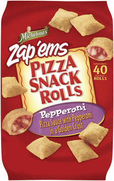 Michelina's Snack Rolls Pepperoni Pizza Snack Rolls 20 Oz Bag