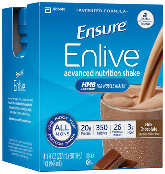 Ensure® Enlive® Milk Chocolate Advanced Nutrition Shake