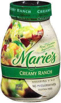Marie's® Creamy Ranch Dressing & Dip 25 fl. oz. Jar