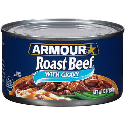 Armour® Roast Beef with Gravy 12 oz. Can