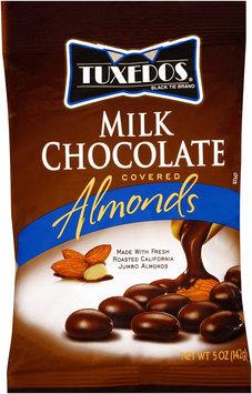 Tuxedos® Black Tie Brand Milk Chocolate Covered Almonds 5 oz. Bag