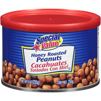 Special Value® Honey Roasted Peanuts
