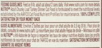 Nutro® Adult Chunky Loaf Turkey Dinner Cat Food 3 oz. Can