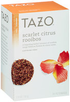 Tazo® Scarlet Citrus Rooibos Herbal Tea 20 ct. Box