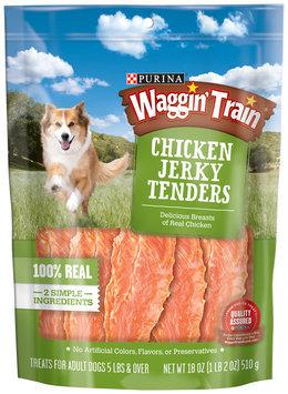 Purina Waggin' Train Chicken Jerky Tenders Dog Treats 18 oz. Pouch