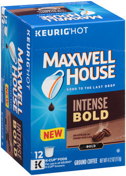 Maxwell House Intense Bold Ground Coffee K-Cup