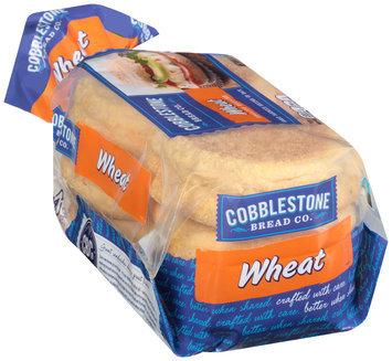 Cobblestone Bread Co.™ Wheat English Muffins 6 ct Bag