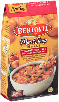 Bertolli® Meal Soup Meal for 2 Tomato Florentine & Tortellini with Chicken 24 oz. Bag