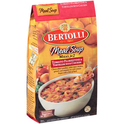 Bertolli® Meal Soup Meal for 2 Tomato Florentine & Tortellini with Chicken