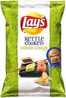 LAY'S® Kettle Cooked Wasabi Ginger Potato Chips