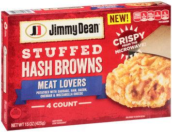 Jimmy Dean® Meat Lovers Stuffed Hash Browns